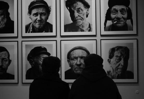 Exhibition Belgicum by Stephan Vanfleteren - faces
