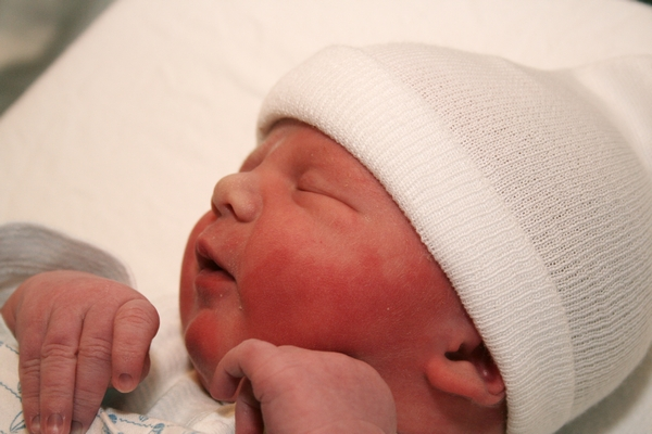 Our son Tijl, born on the 6th of September 2010
