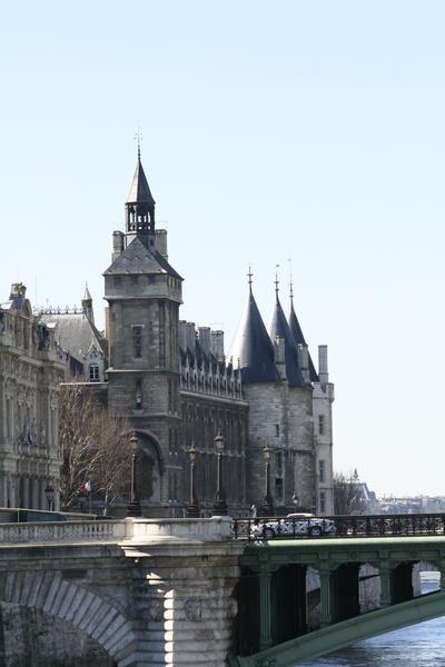 View on Ile de la Cité