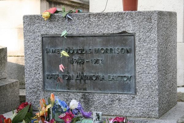 Grave of Jim Morrison