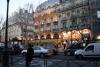 Quartier Latin at dusk