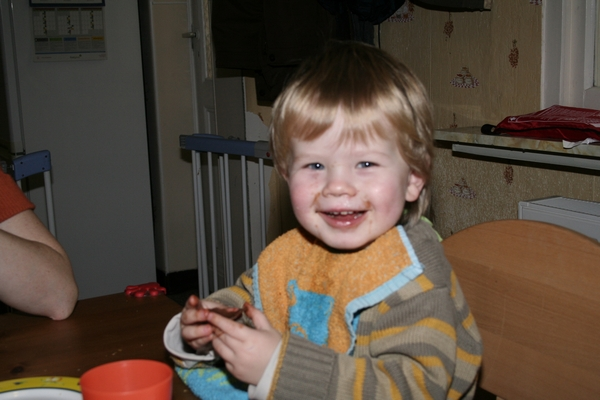 Chocolate-eating time!