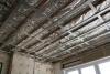 Lowered ceiling - aluminium beam construction