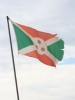 The flag of Burundi